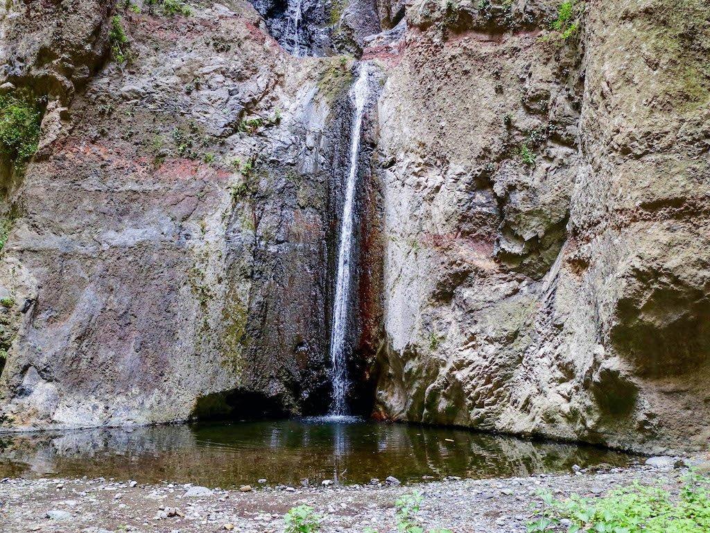Cascada en barranco del Infierno